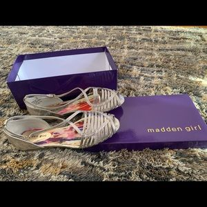 Masson Girl gold/silver sandals